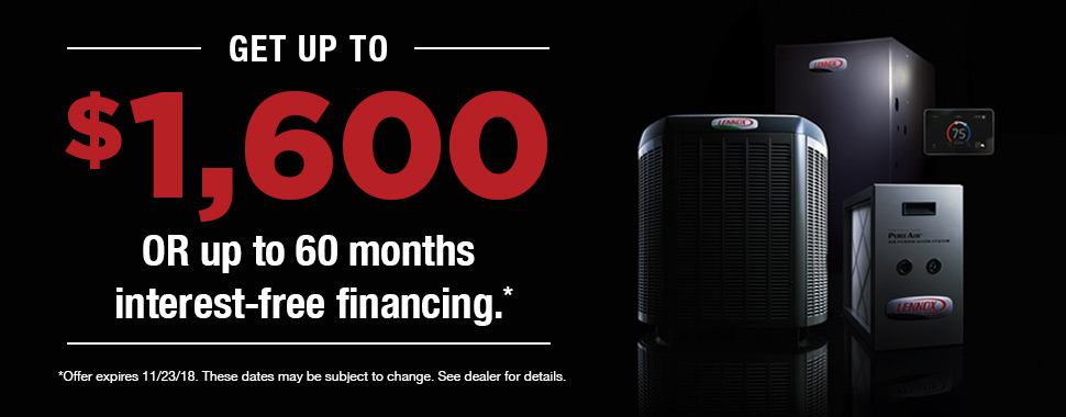 Lennox Rebates Financing Now Through 11 23 18